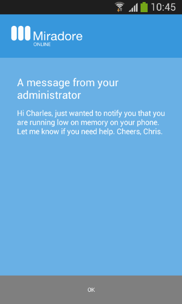 message_on_phone
