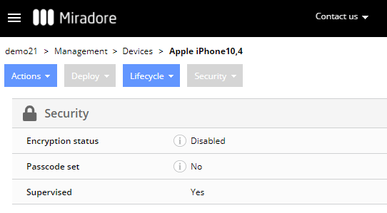 A supervised iPhone.